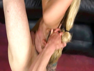 Hair pulling and a wang rammed in ass to mouth
